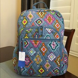 NWT VERA BRADLEY CAMPUS TECH BACKPACK